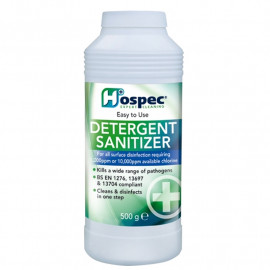 Hospec Detergent Sanitiser 500gm - each