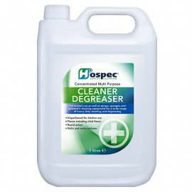 Hospec Cleaner & DeGreaser - 5 litre - Each