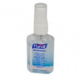 Purell Advanced Instant Hand Sanitiser - 1 x 60ml Pump Bottle