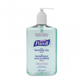 Purell VF481 Anti-Viral Sanitiser - Single 350ml Pump Bottle