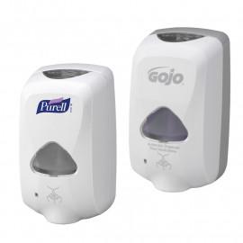 Purell & Gojo TFX Touch Free Dispensers - White