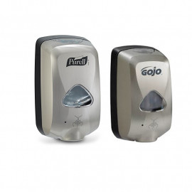 Purell & Gojo TFX Touch Free Dispensers - Chrome