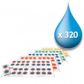 Single Cleaning Indicator Refill Packs 160/320 (No Holders in the Pack)